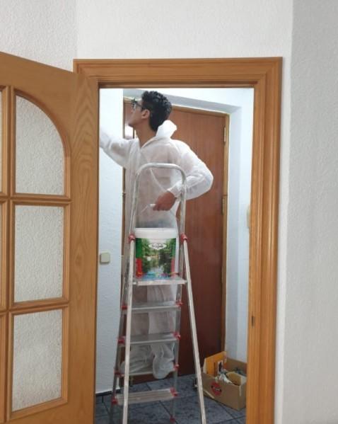 pintar paredes precio